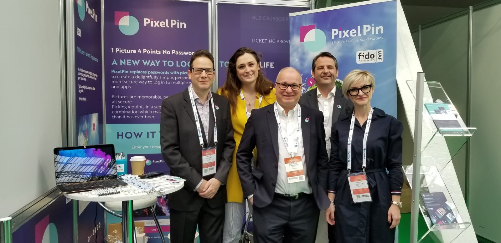 PixelPin Takes on InfoSecurity 2019
